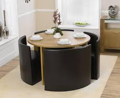 Outstanding Round Dining Table And Chairs Space Saver 43 In Dining Elegant Space  Saver Dining Table Sets