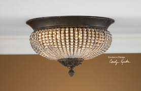 flush mount crystal ceiling light fixtures ozsco regarding new for crystal flush mount ceiling light