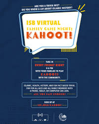 Kahoot is a new talk of the town these days. Friday Family Nights Kahoot At 6pm Islamic Society Of Baltimore