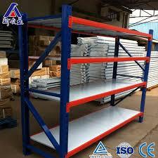 china medium duty powder coating steel racking for warehouse china racking steel racking