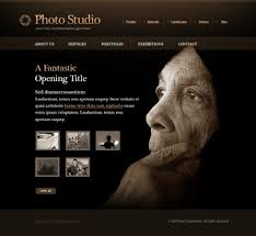 Photography Websites Templates Classy Photo Slides Website Template 28 Art Photography Website
