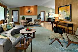 mid century modern fireplace living room modern with decorative pillows contemporary area rug