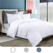 soft white duvet cover. Contemporary Cover Bedsure King Duvet Cover Set With Zipper ClosureWhite Bedding Diamond  Pattern  Intended Soft White