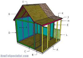 play house plans.  Plans Building A Playhouse Intended Play House Plans