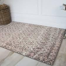moroccan quartz pink trellis traditional rugs soft modern geometric desk rug