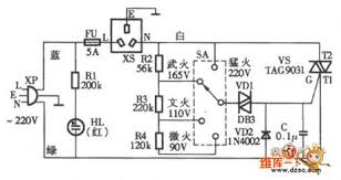 index 115 electrical equipment circuit circuit diagram xinmei vl 95q electric rice and porridge cooker circuit diagram