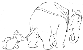 Walt disney coloring page of dumbo from dumbo (1941) 40244462. Dumbo Coloring Pages Disney Coloring Home