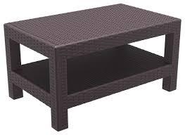 compamia monaco patio coffee table