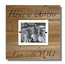 16 x 22 picture frame x wood wall art sign home is wherever i 16 x 16 x 22 picture frame