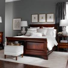 shades of wood furniture. grey walls with wood furniture for bedroom google search shades of