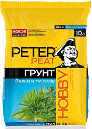 """<b>Грунт Peter Peat</b> """"Пальмы и фикусы"""", 10 л — купить в интернет ..."""