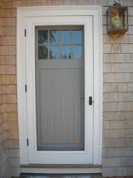 wooden front door with storm door. Wonderful Door We Like The Trim On This And Illustrates How Weu0027d Screenstorm  Door Incorporated Also Color Combo Weu0027ll Be Using And Wooden Front Door With Storm