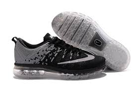 nike running shoes flyknit 2016. nike air max 2016 flyknit grey black running shoes