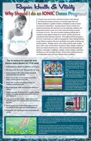 Foot Detox Machine Color Chart Ionic Foot Detox Ionic Foot Detox Machine Benefits