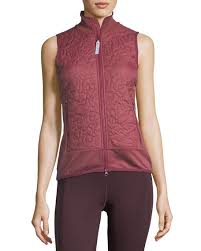 adidas by Stella McCartney Quilted Zip-Front Running Vest & Quilted Zip-Front Running Vest Adamdwight.com