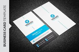 Modern Blue Business Card Template Business Card Templates