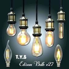 edison light fixtures bulb idea and vintage led retro lamp home depot