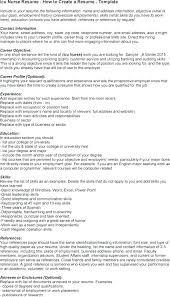 Objective For Resume For Nursing Resume Nursing Skills Resume ...