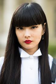 Hair Style For Long Hair With Bangs 4 bangs hairstyles to bang or not to bang fashion tag blog 8867 by wearticles.com