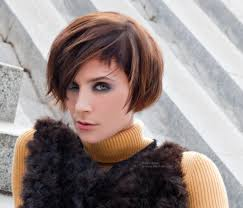 short and fashionable page haircut