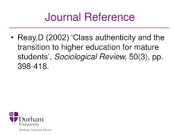 Ppt Understanding Book Journal References Powerpoint