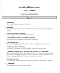 Agenda Outlines Templates 10 Agenda Outline Templates Free Sample Example Format