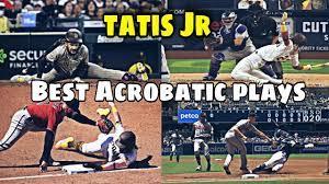 Fernando Tatis Jr Best Acrobatic Plays ...