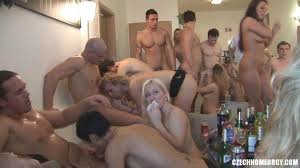 Free hardcore orgy video