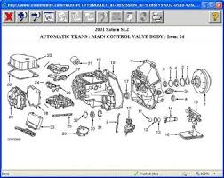 2001 saturn sl2 transmission problem 2001 saturn sl2 4 cyl front heres a exploded view of the valve body and transmission see if u see that part in the diagram if u do let me know what number it is