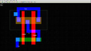 Inverter Layout Design Xor Stick Diagram
