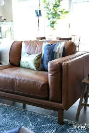 room a brown leather sofa saddle leather sofa using saddle soap on leather sofa