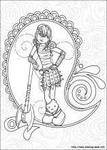 How To Train Your Dragon Coloring Pages On