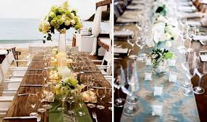 backyard wedding the food table decor