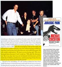 welcome to falling rock national park jurassic park michael crichton
