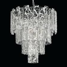 chandeliers glass glass chandelier 5 lights white and chrome clear glass chandelier crystals chandeliers glass