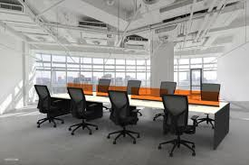 Affordable Modern Office Furniture Impressive Affordable Modern Benching Systems