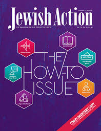Jewish Action Summer 2018 By Orthodox Union Issuu