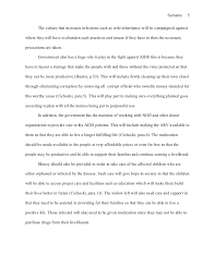 essay about aids research paper on aids