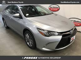 2015 Used Toyota Camry Hybrid 4dr Sedan SE at East Madison Toyota ...