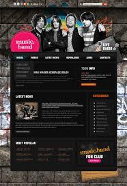 Music Newsletter Templates Music Band Joomla Template 35173