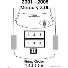 spark plug wiring diagram 03 mercury sable fixya i need a dieagram of the fireing order for 03 mercury sable ls 3 0 v6