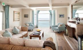 Decorations:Beach House Cottage Decorating Idea With Bamboo Window Blinds  And Rustic Dining Set Playful