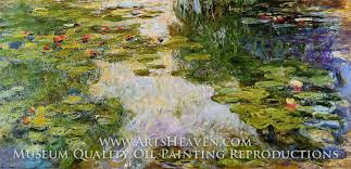 water lilies by claude monet order a museum quality oil painting