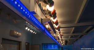 abendstern lighting blue led strip lit