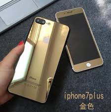 iphone 7 plus gold front. apple iphone 7 \u0026 plus front and back mirror tempered glass iphone plus gold front e