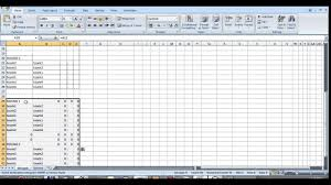 Cricket Score Sheet 20 Overs Excel Sport Tournament Template