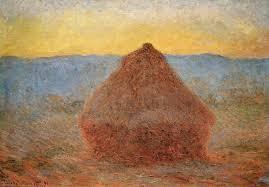 claude monet haystacks series tutt art