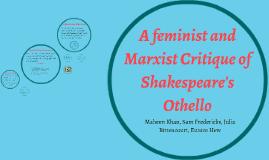 Othello marxist essay