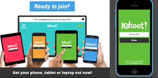 students can use their mobile devices to play kahoot by simply entering the pin number provided by the teacher