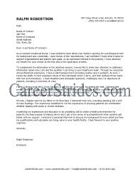 Cover Letter Example   Nursing   CareerPerfect com     Cover Letter  There Are Plenty Of Opportunities To Land A Sample Cover Letter For A